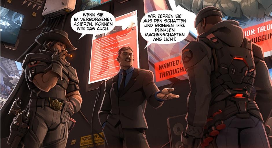 Overwatch Redemption Comic Strip 1