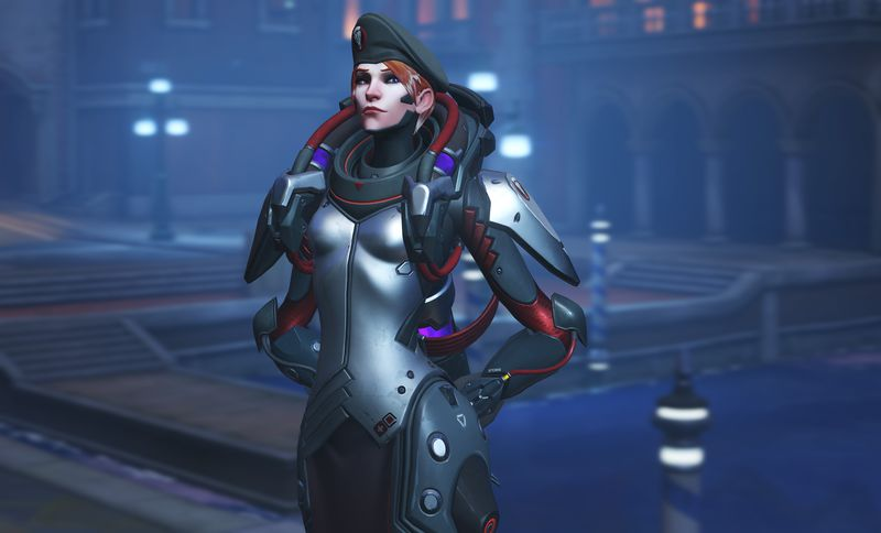 Overwatch Retribution Moira