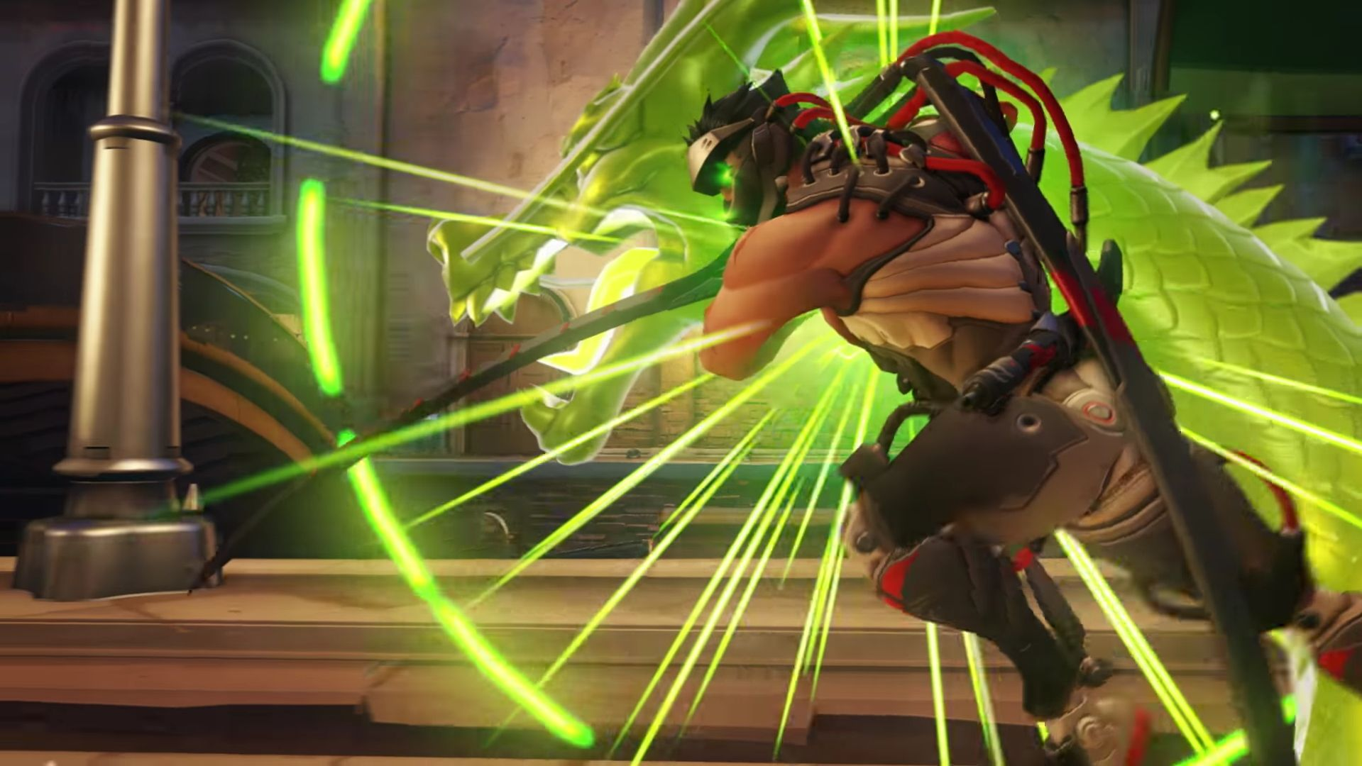 Overwatch Retribution vergeltung Genji Cinematic