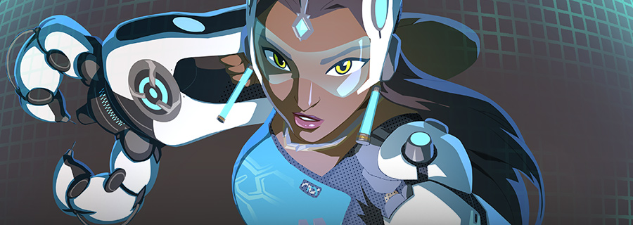 Overwatch Symmetra a better world