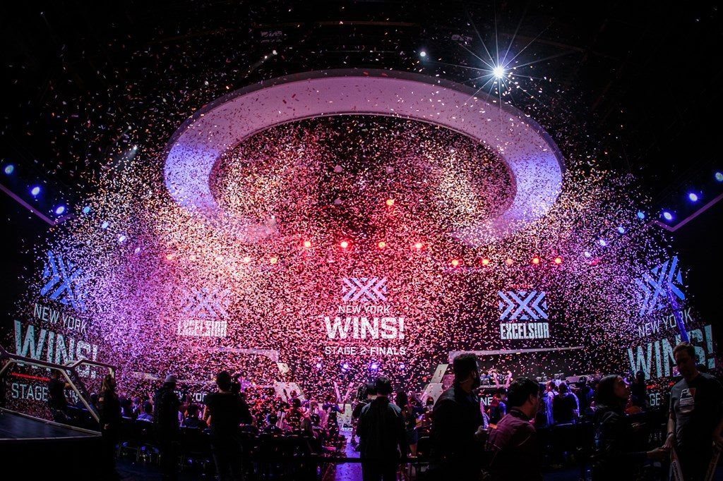 Overwatch league Phase 2 Finale Champion new York Excelsior