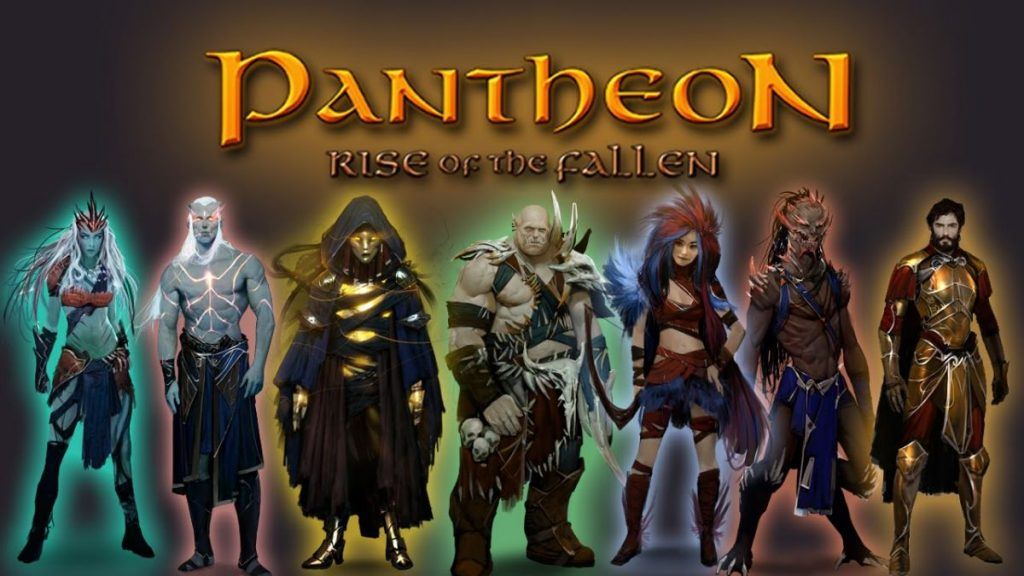 Pantheon Rise of the Fallen PvE MMO