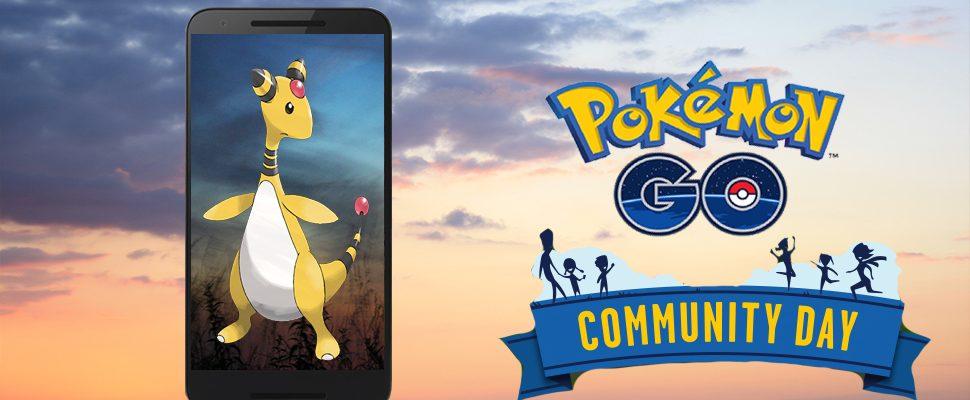 Pokémon GO: Besondere Ampharos-Attacke für den 4. Com Day bekannt