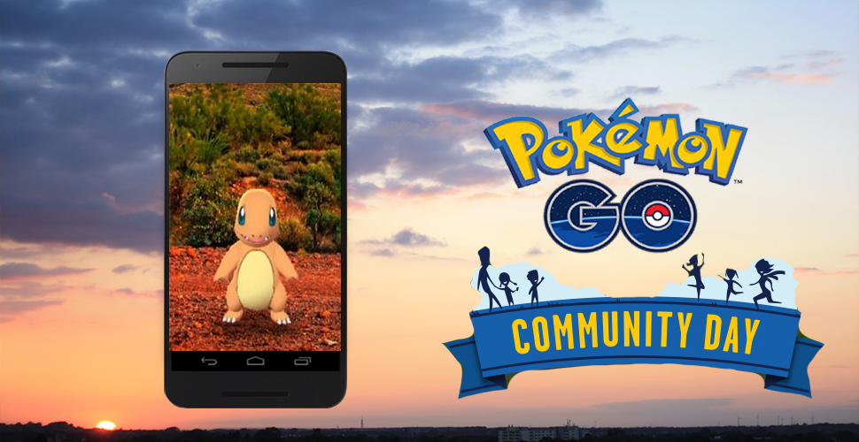 Pokémon GO Community Day Titel Glumanda