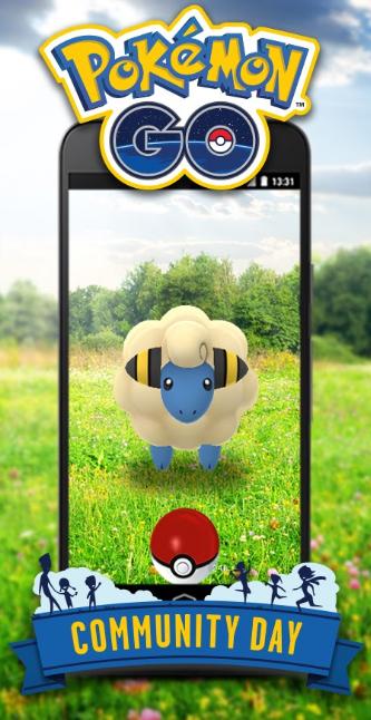 Pokémon GO Community Day Voltilamm Solo
