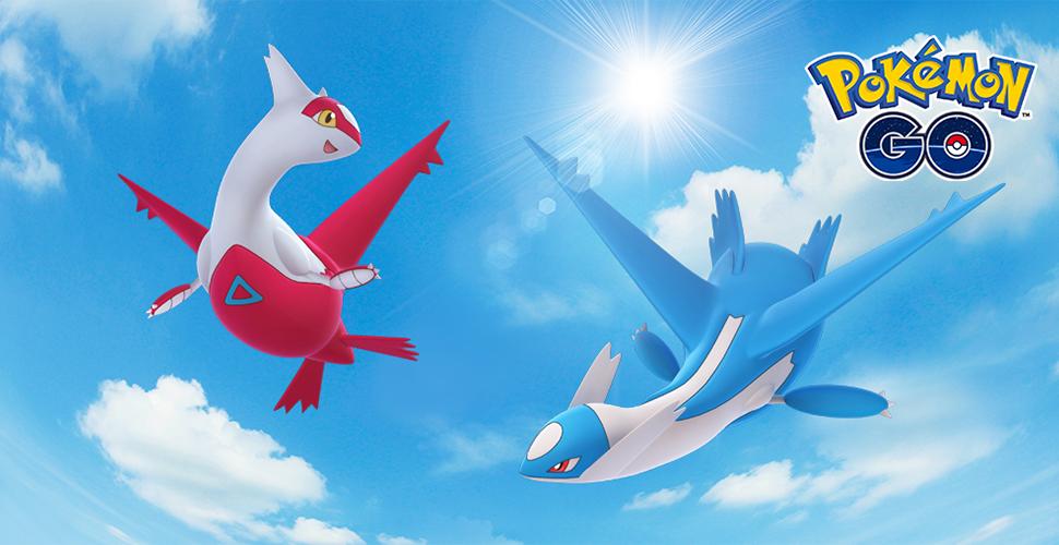 Pokémon GO Latios Latias Titel
