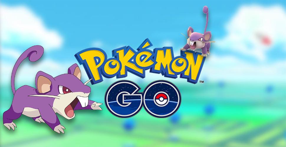 Pokémon GO Rattfratz