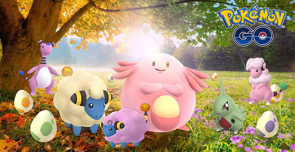 Pokémon GO Shiny Voltilamm Titel