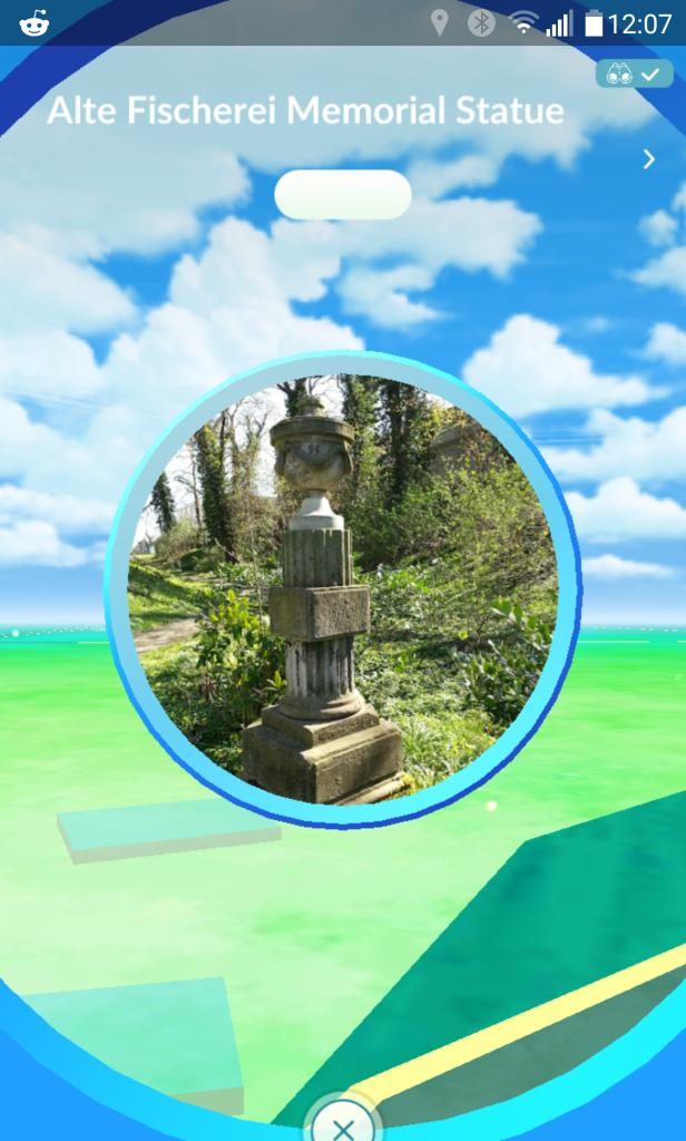 Pokémon GO Stop erfolgreich