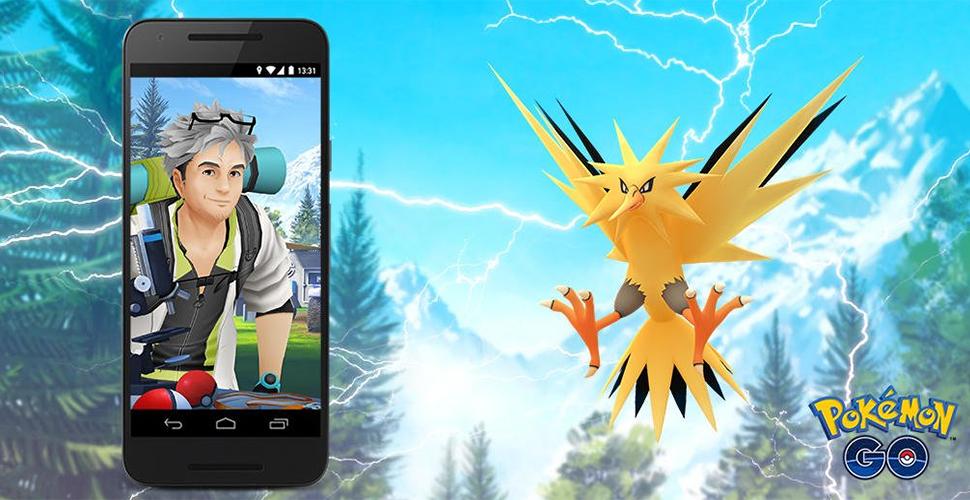 Pokémon GO Zapdos Willow