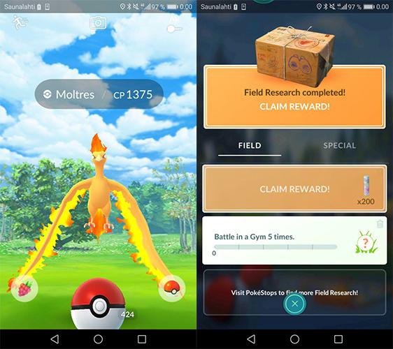 Pokémon GO Zweite Lavados Begegnung
