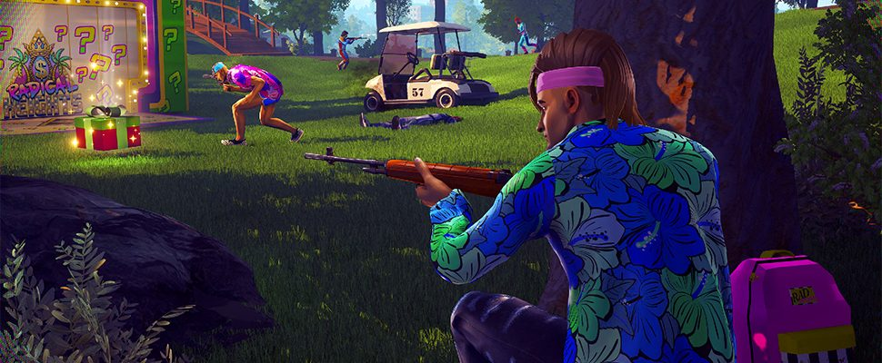 Radical Heights ist Battle Royale im knalligen Stil der 80er mit Konfetti