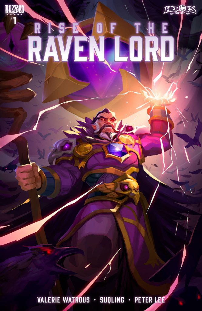 Rise of the Raven Lord Hots Cover