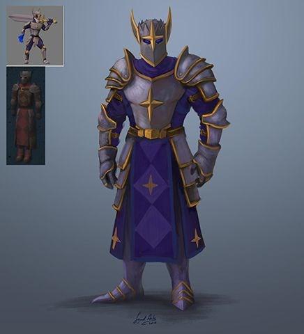 Runescape neue Justiciar Rüstung