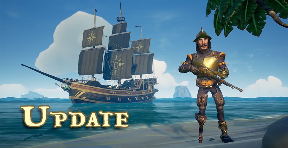 Sea of Thieves Update Titel 2