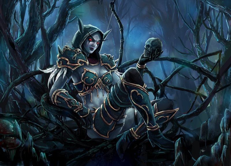 Sylvanas Windrunner Artwork Sendolarts