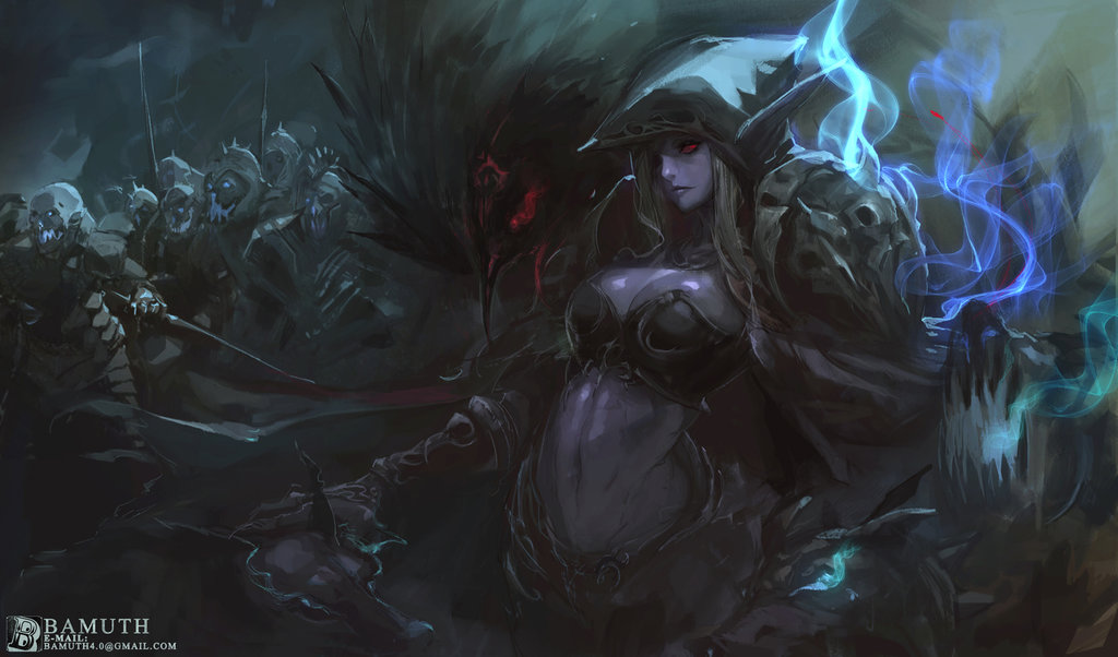 Sylvanas Windrunner Artwork bamuth