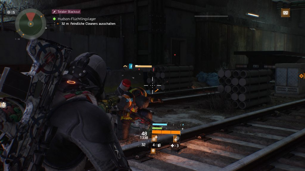 The Division Blackout Schock