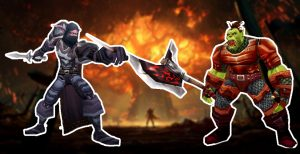 WoW-Battle-for-Azeroth-Burning-Teldrassil-Artwork titel rogue warrior