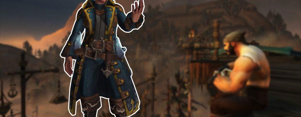 WoW: Macht Euch die Heritage-Armor der Kul Tiraner zum Kragen-Pirat?
