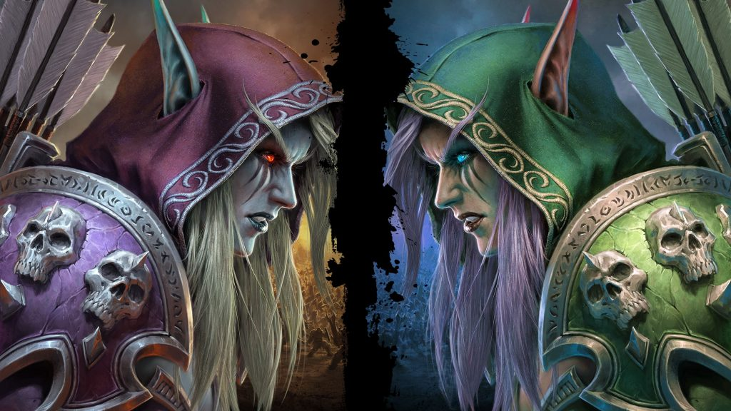WoW BfA More Sylvanas