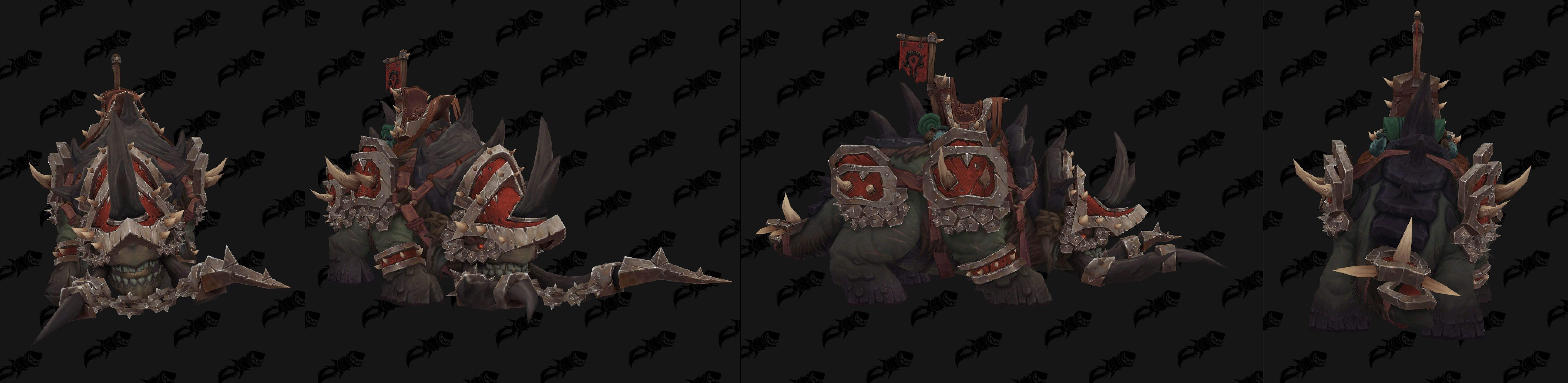 WoW BfA Mount Clefthoof Maghar PvP