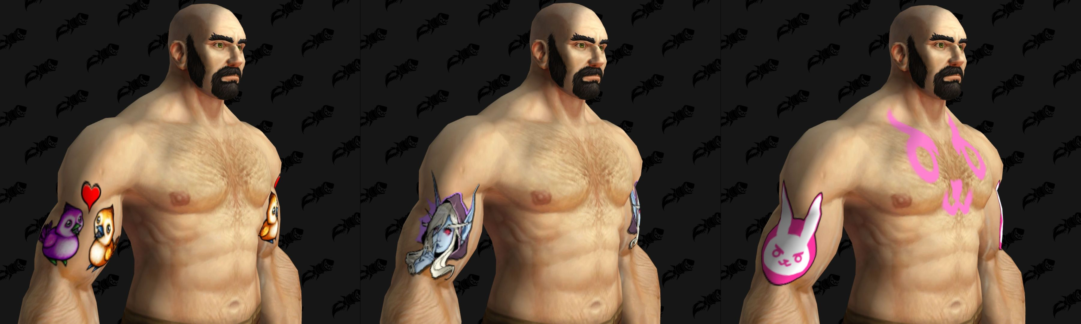 WoW Wowhead tattoos april fools 2