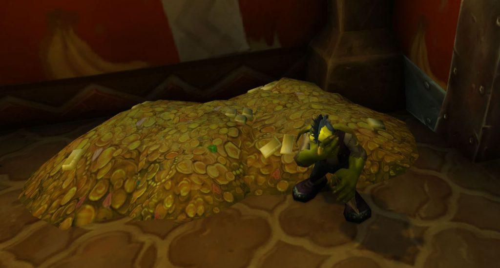 World of Warcraft Arsenal App AH close goblin gold crying