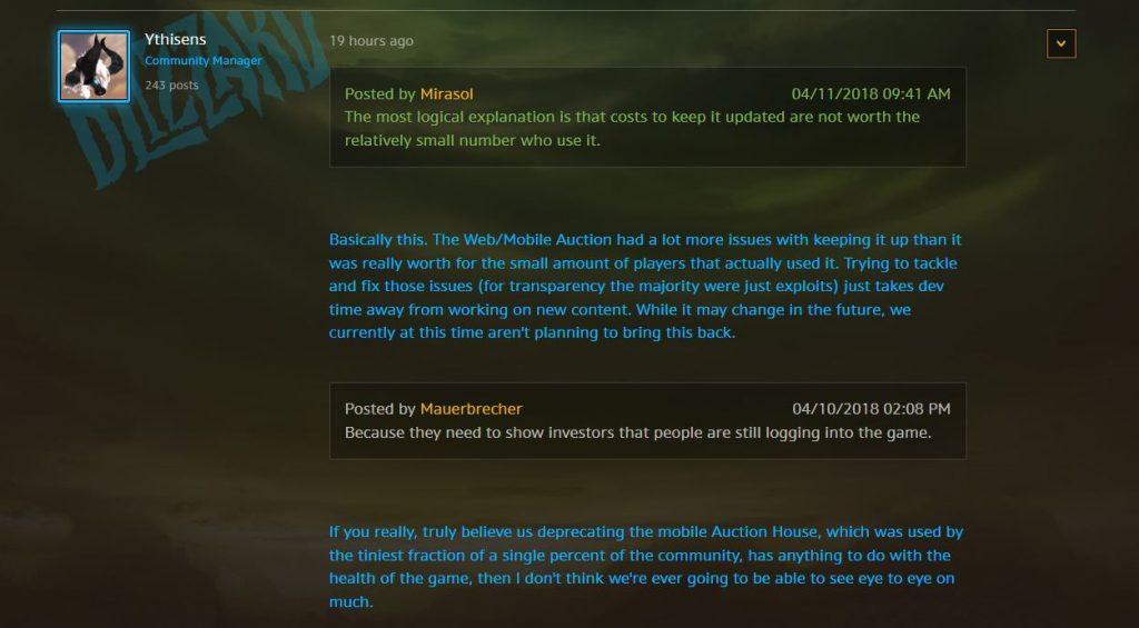 World of Warcraft Arsenal App CM Ythisens Forum