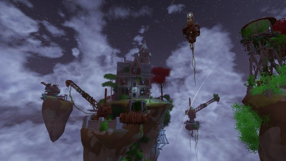 Worlds Adrift Insel