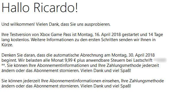 Xbox Game Pass 5