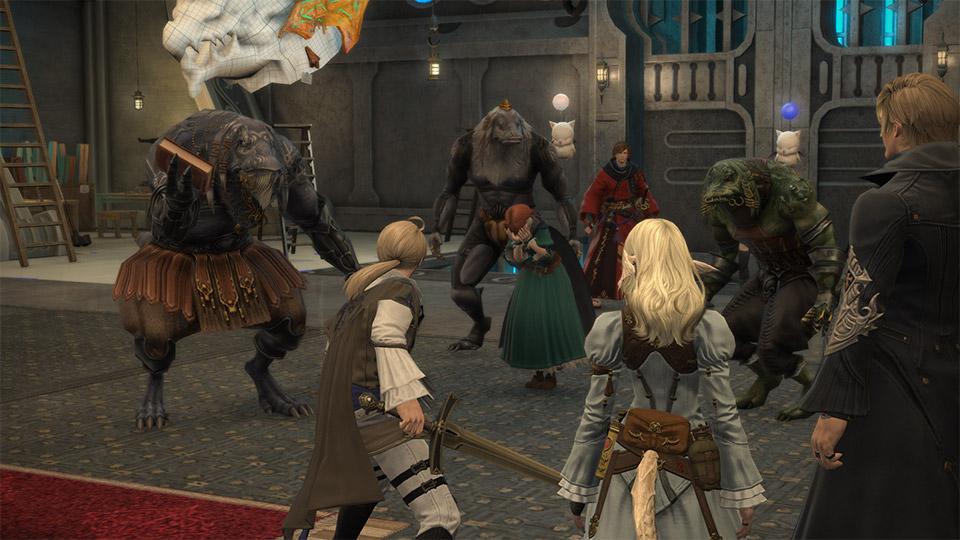 final fantasy xiv ivalice ba'gamnan raid