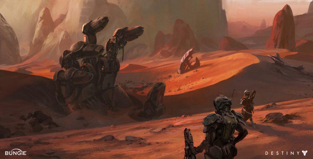 Giant Concept Mars Destiny
