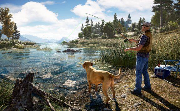 Far Cry 5 Fischen
