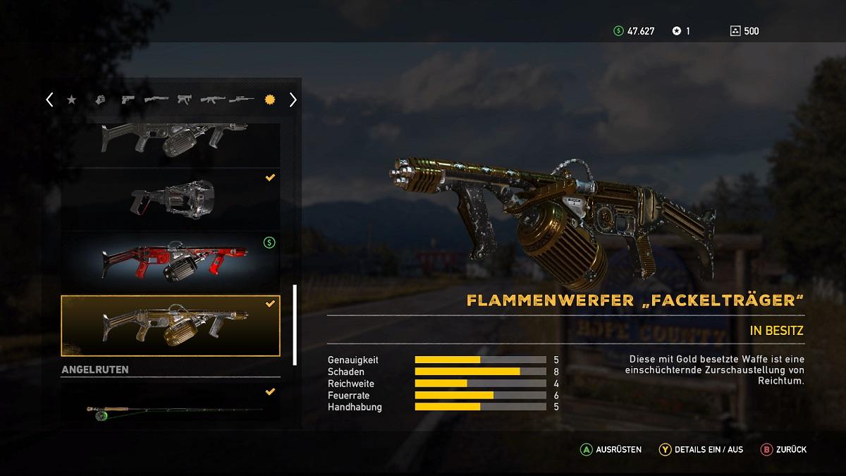 Far Cry 5 Flammenwerfer Fackelträger