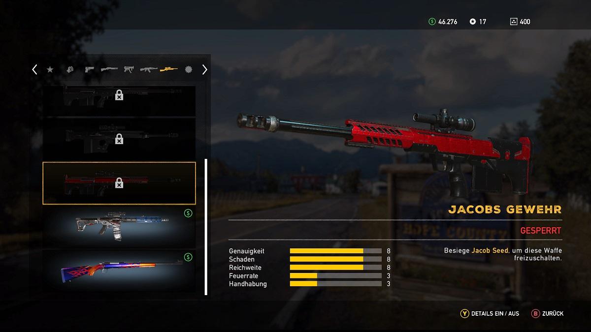 Far Cry 5 Jacobs Gewehr