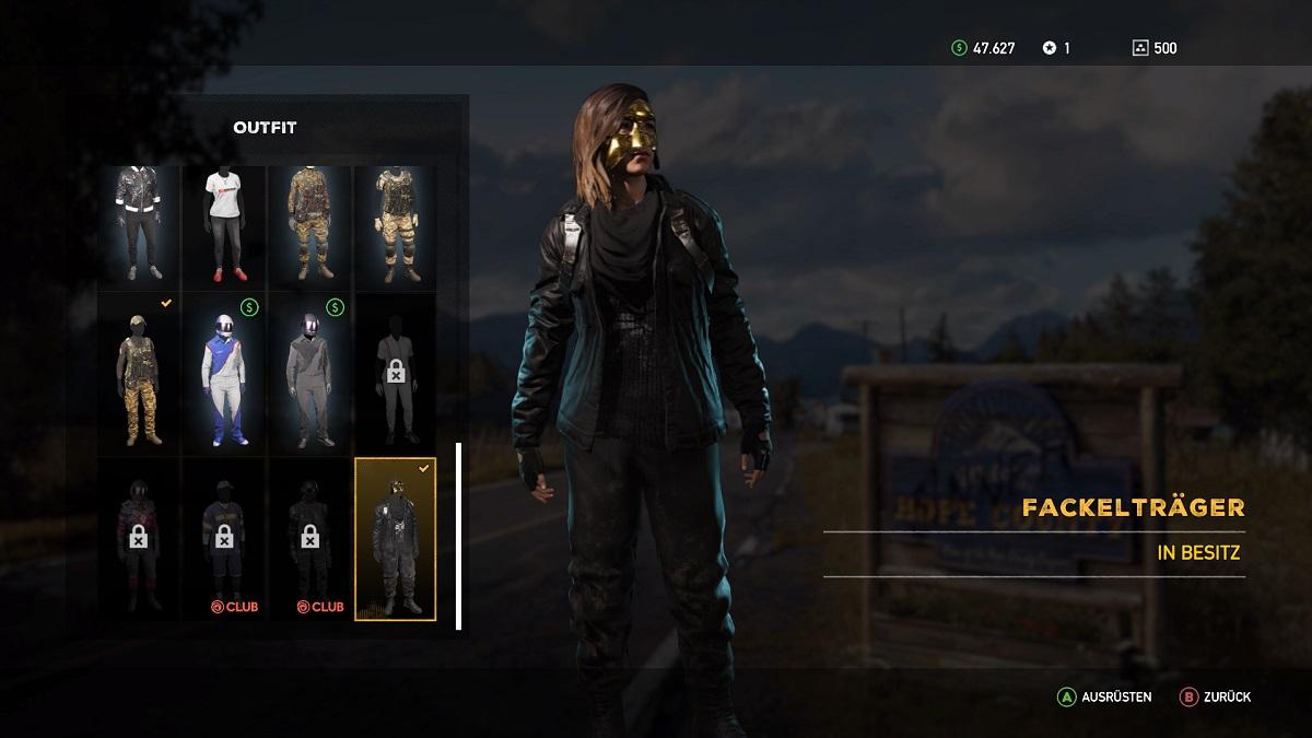 Far Cry 5 Outfit Fackelträger