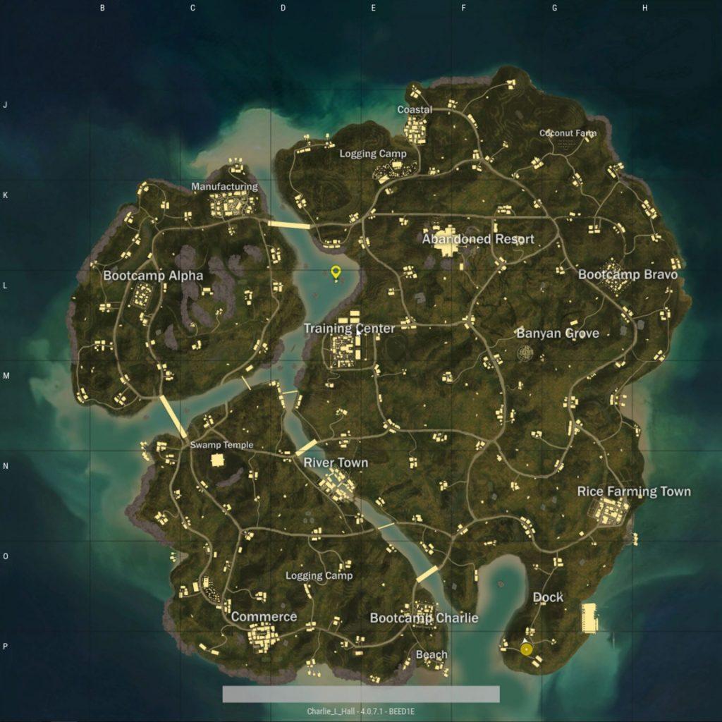 PUBG savage map