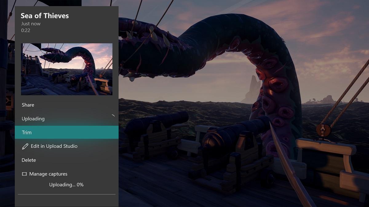 Xbox One Update Clip schneiden