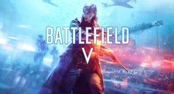 Battlefield V Frau Cover Titel