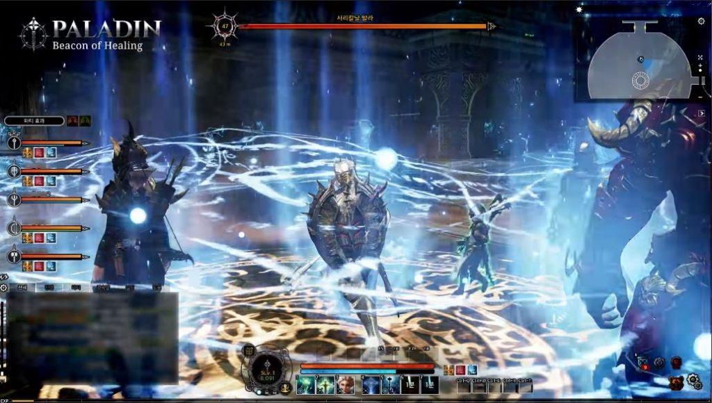 Bless Online Paladin Gameplay Heilung