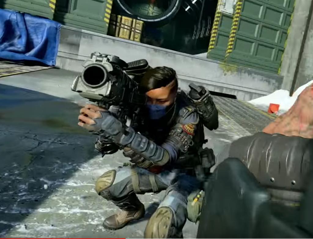 Call of Duty Black Ops 4 Raketenwerfer