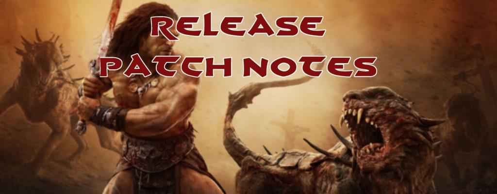 Die Patch Notes zum Release von Conan Exiles auf Deutsch