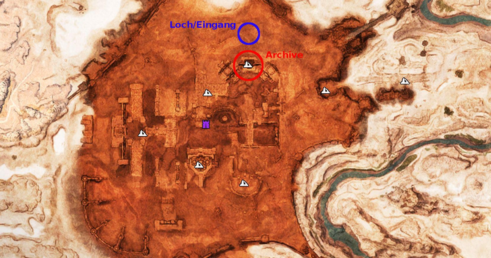 Minecraft Kartentisch Rezept.So Findet Ihr Den Archivar Und Benutzt Den Kartenraum In Conan Exiles