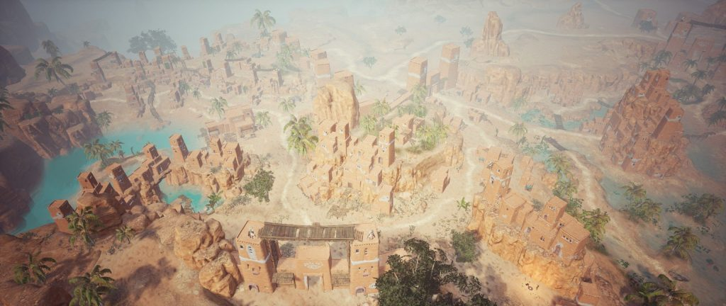 Conan Exiles Screenshot Sepermeru, Stadt der Reliquienjäger