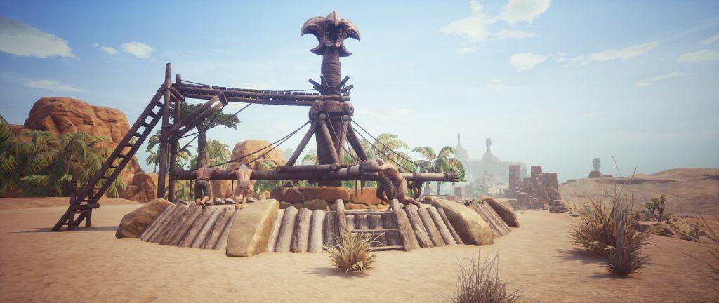 Conan Exiles Screenshot größeres Rad der Schmerzen