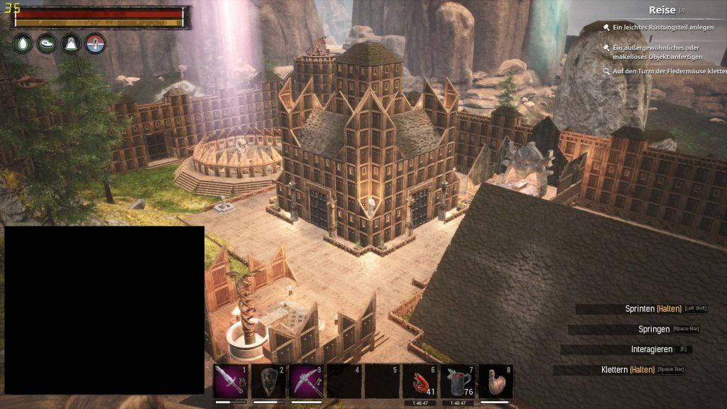 Conan Exiles Screenshot großes Lager