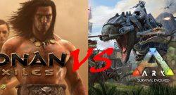 Conan Exiles vs ARK survival Evolved head