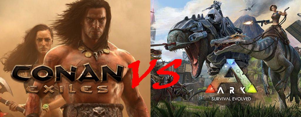 Conan Exiles vs. ARK Survival Evolved – Die Survival-MMOs im Vergleich