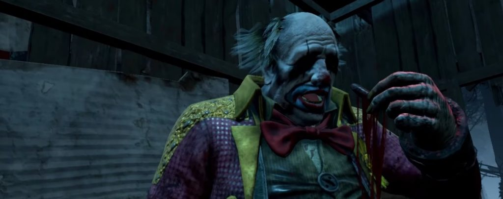 Dead by Daylight Clown eating finger